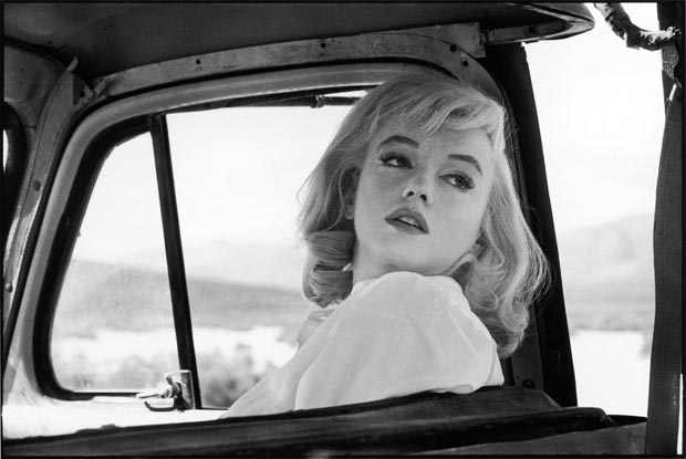 Marilyn Monroe On 'The Misfits' Set